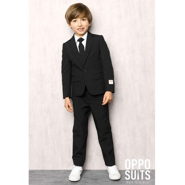 オッポスーツ ブラック ボーイズ スーツ 黒 子供 衣装 通常便は送料無料
