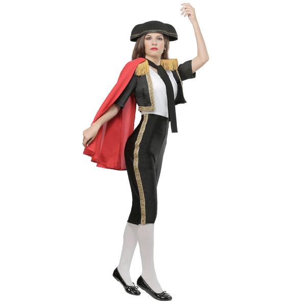 マグニフィセント マタドール 闘牛士 レディース 衣装 コスプレ 大人 通常便は送料無料