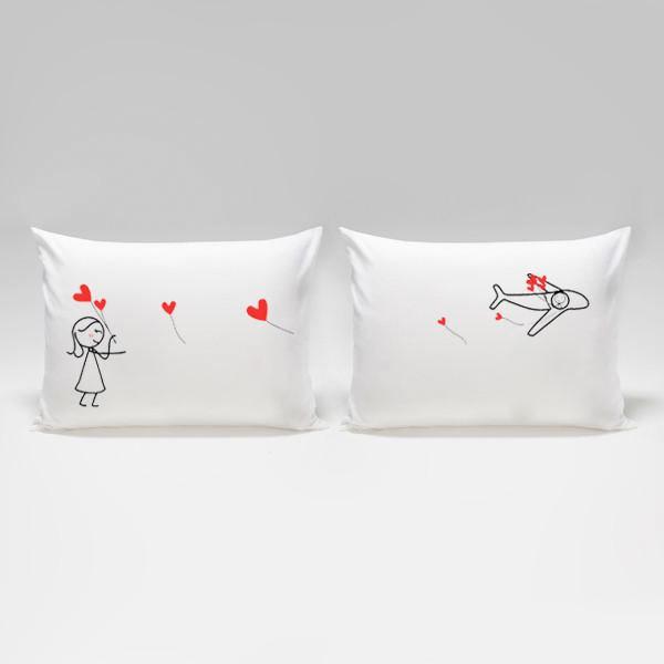 名作 ペア カップル 枕カバー 離れていても心はいつも一緒 バレンタイン バレンタイン ペア ペア ギフト かわいい ピローケース ペア, カニエスポーツ:3b8f9c71 --- bibliahebraica.com.br