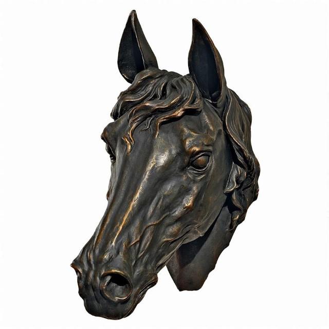 インテリア 壁飾り 彫刻 馬 の首 Freedom Spirit