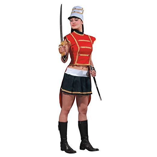 ドラムメジャー おもちゃの兵隊 セクシー 女性 マーチングバンド 衣装 ハロウィン コスチューム