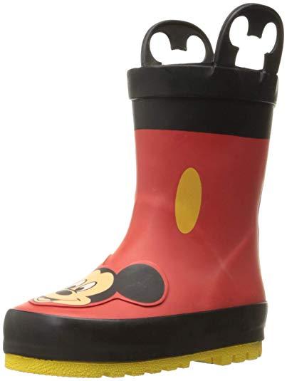 子供 長靴 ミッキー マウス かわいい おしゃれ ディズニー キャラクター