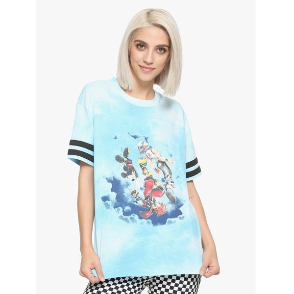 キングダムハーツ ガールズ Tシャツ 3D ドリーム ドロップディスタンス ディズニー 通常便は送料無料