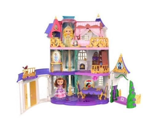 ソフィア プリンセス プレイ キャッスル ディズニー ちいさな プリンセス ソフィア お城 子供 おもちゃ ドールハウス