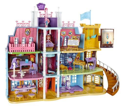 ソフィア おもちゃ ちいさな プリンセス ソフィア ディズニー 子供 ロイヤル プレップ アカデミー プレイ セット ドールハウス