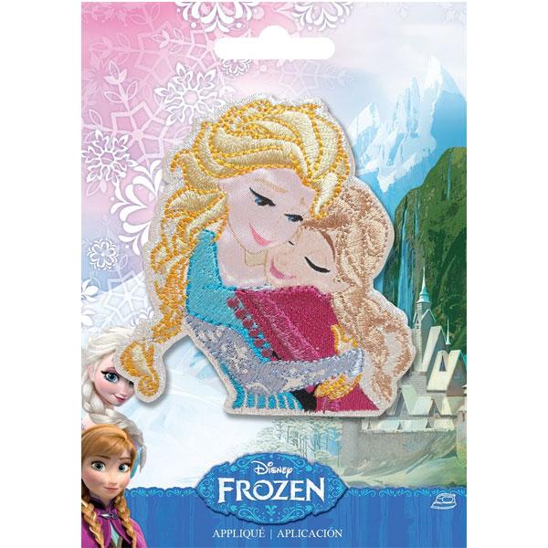 通常便なら送料無料 アナ雪 ワッペン エルサ アップリケ アナと雪の女王 通常便は送料無料 刺繍 プリント アナ ご予約品 驚きの値段で ディズニー