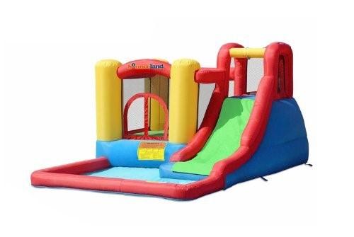 水遊び 大型 遊具 バウンスランドジャンプ&スプラッシュバウンスハウス 子供 野外 屋外 家庭