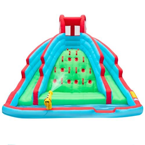水遊び 大型 遊具 デラックス インフレータブル ウォーター スライド パーク 子供 野外 屋外 家庭