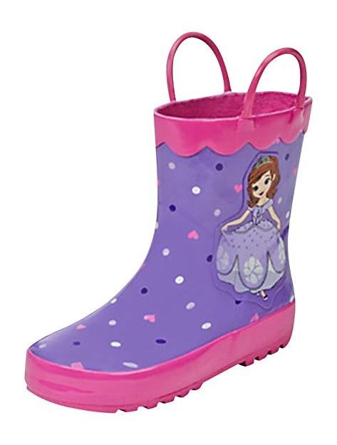 ちいさなプリンセス ソフィア 子供 長靴 レインシューズ レインブーツ