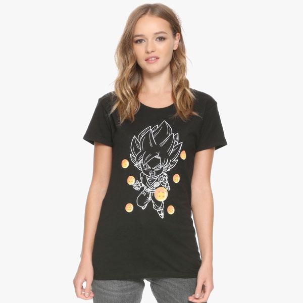 ドラゴンボール tシャツ ドラゴンボールZ チビ 悟空 Tシャツ ジュニアサイズ