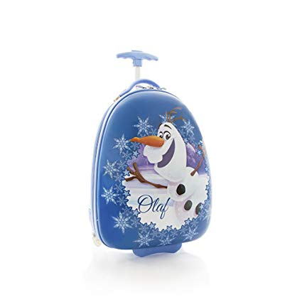 オラフ グッズ ディズニー アナと雪の女王 子供 キャリーケース かばん ハードシェル キャリーバッグ 飛行機持ち込み可 約46cmx28cmx23cm