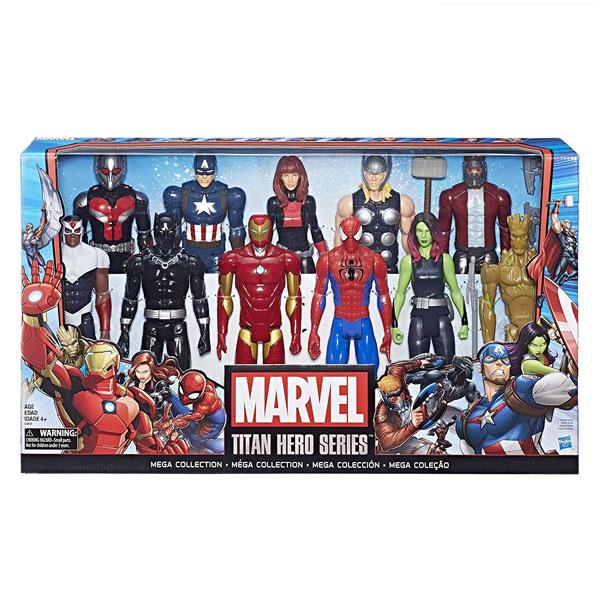 スパイダーマン フィギュア マーベル タイタン ヒーロー シリーズ 11セット メガコレクション