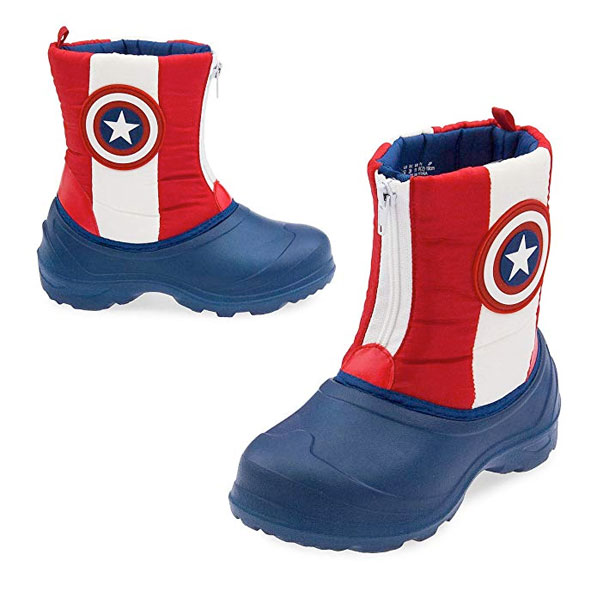 キャプテン アメリカ 子供 長靴 マーベル レインシューズ