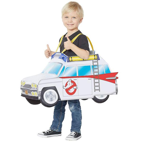 ゴーストバスターズ コスプレ 子供 幼児 ゴーストバスターズカー ライトアップ ピギーバック コスチューム