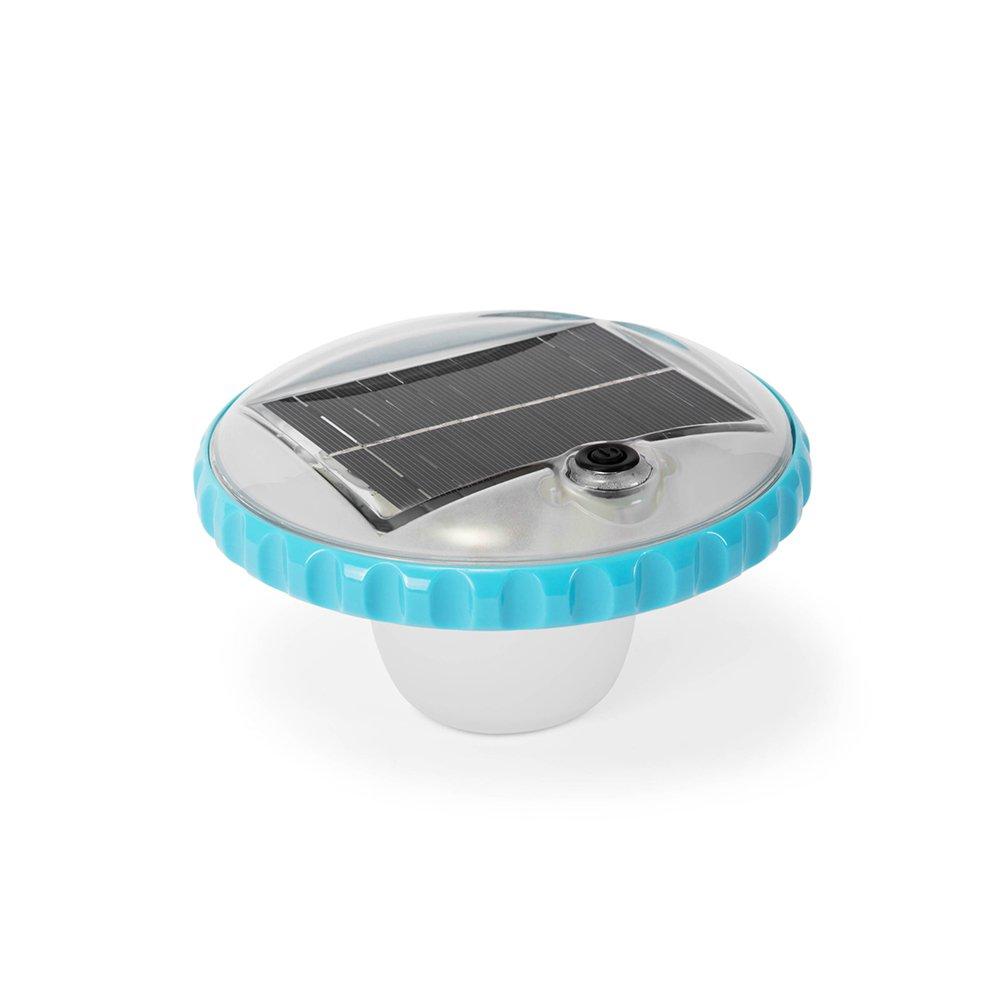 ナイトプール フローティング LED ソーラー ライト Intex プール 浮かべる 飾り 防水 デコレーション