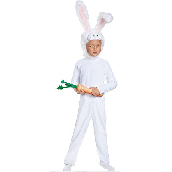 映画 ペット 2 衣装 スノーボール 子供 コスチューム ハロウィン コスプレ ウサギ 着ぐるみ 通常便は送料無料