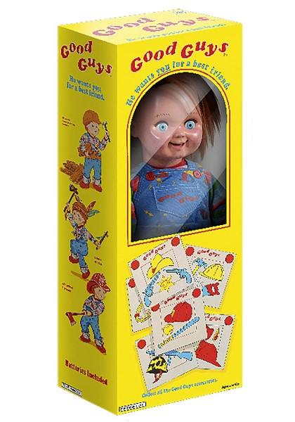 チャッキー 等身大 人形 チャイルドプレイ グッドガイ チャッキー ドール 箱入り 1 1スケール 大人気,人気SALE