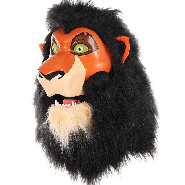 ライオンキング スカー マスク 口が動く コスプレ ディズニー