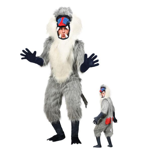 ヒヒ 衣装 着ぐるみ 大人 コスチューム ハロウィン 動物 コスプレ