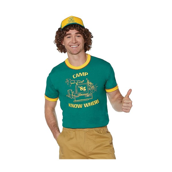 ストレンジャー シングス Camp Know Where Tシャツ