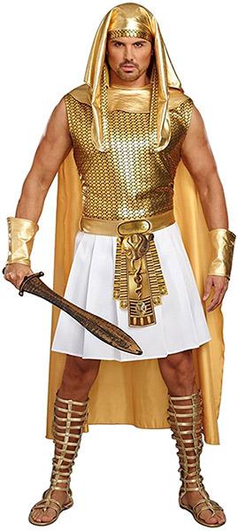 通常便なら送料無料 エジプトの王様ファラオ ディスカウント メンズ 男性 ハロウィン コスプレ ゴージャス コスチューム 新色 目立つ 大人 衣装