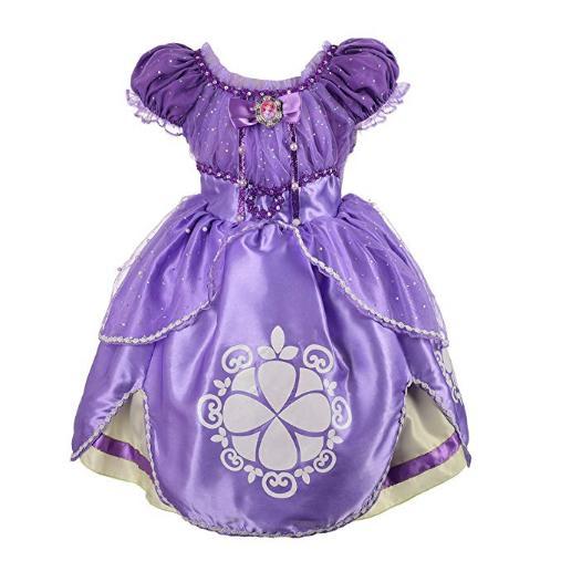 ソフィア ドレス ディズニー コスプレ 子供 コスチューム 人気 衣装 女の子用 ちいさなプリンセスソフィア 公式 お姫様 仮装 グッズ