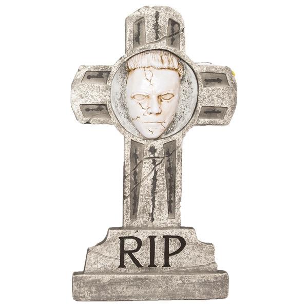 マイケルマイヤーズ トゥームストーン 墓石 飾り ハロウィン デコレーション ライトアップ
