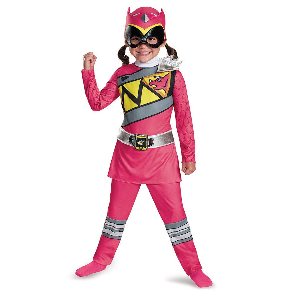 パワーレンジャー コスプレ ダイノ チャージャー ピンクパワーレンジャー 幼児 クラシック コスチューム 衣装