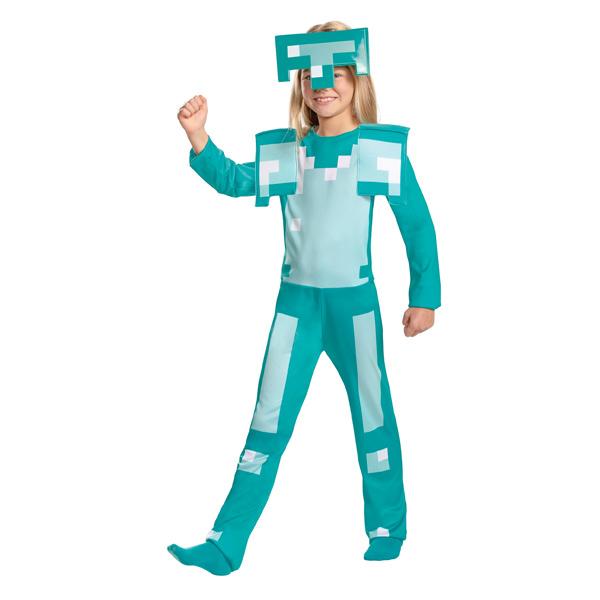 マインクラフト 子ども用 アーマー コスチューム ハロウィン 仮装 パーティー コスプレ キッズ マイクラ テレビゲーム