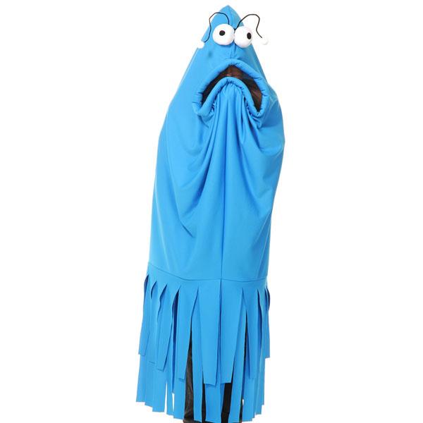セサミストリート コスプレ ブルー ヤップヤップ 大人 火星人 エイリアン コスチューム 衣装