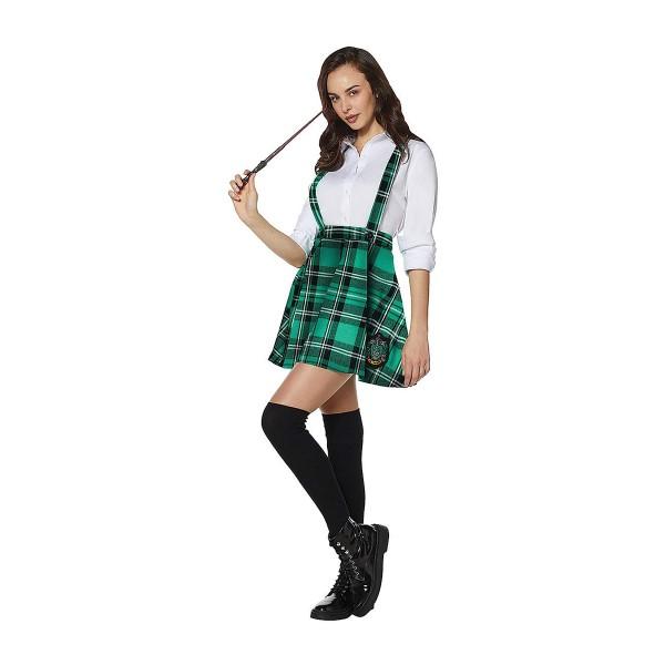 ハリーポッター コスプレ スリザリン サスペンダー スカート コスチューム 衣装 大人 ジュニア