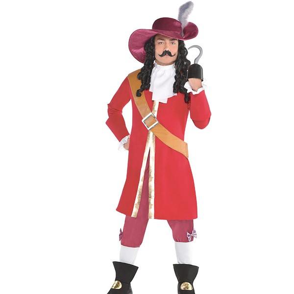 ディズニー コスチューム 大人 ピーターパン フック船長 大人 コスチューム 衣装 コスプレ ディズニー 映画