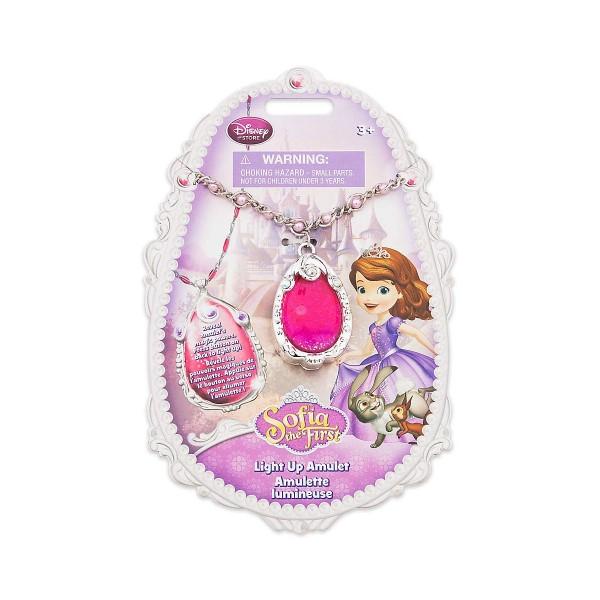ソフィア おもちゃ ネックレス ライトアップ 子供 おしゃれ ピンクパ-プル