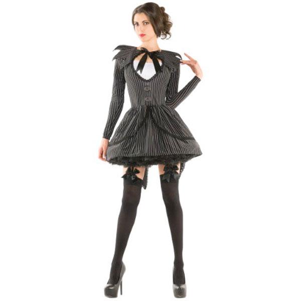 ナイトメア 女性 コスチューム ドレス ハロウィン 仮装 コスプレ 衣装 大人