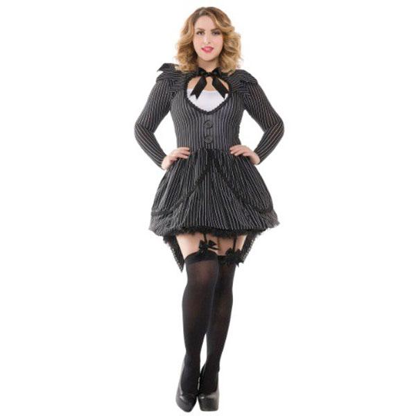 ナイトメア 女性 コスチューム ドレス 大きい 仮装 コスプレ 衣装 大人