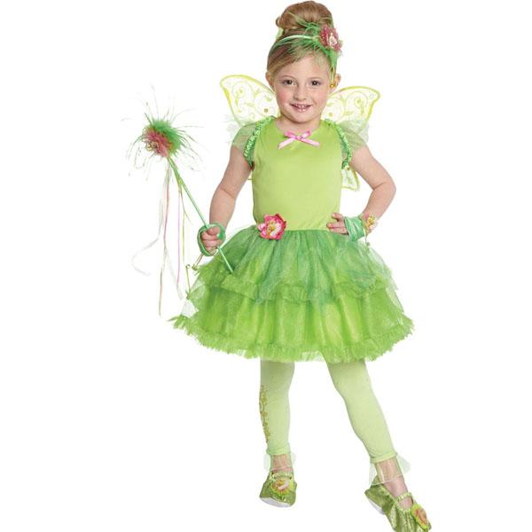ティンカーベル コスプレ 子供 チュチュドレス 衣装 コスチューム ピーターパン