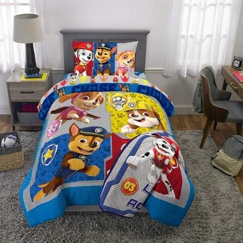 パウパトロール グッズ 子供 寝具 シングル 掛け布団 シーツ 枕カバー セット