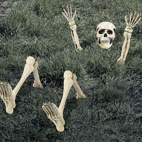 ハロウィン 飾り スケルトン デコレーション 骸骨