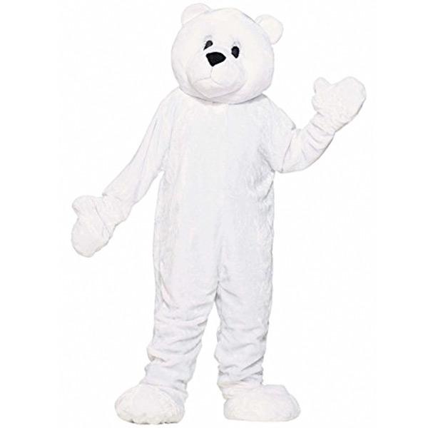 シロクマ 着ぐるみ 大人 ホッキョクグマ 動物 コスチューム マスコット