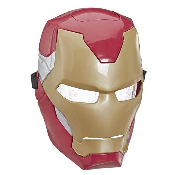 アイアンマン マスク 子供 フリップ FX ライトエフェクト付き ごっこ遊び 仮面 おもちゃ