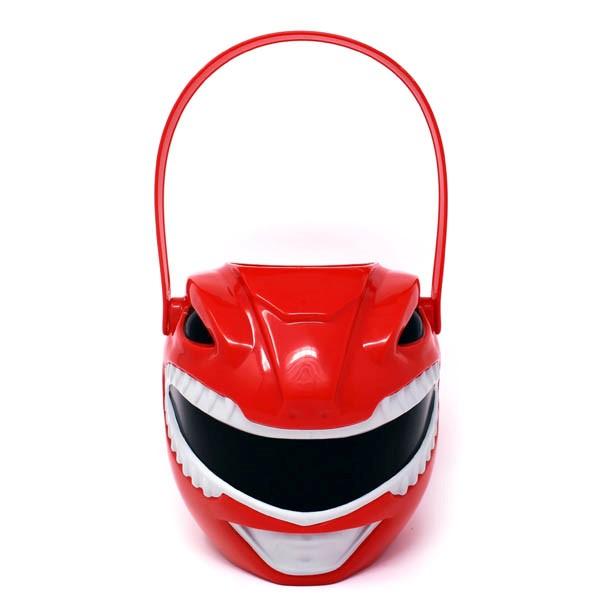 パワーレンジャー グッズ トリック オア トリート プラスチック バケット ハロウィン お菓子入れ バケツ