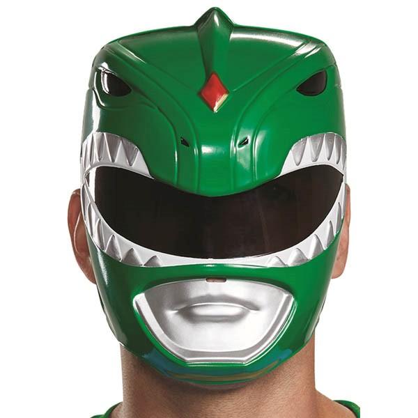 パワーレンジャー コスプレ グリーンレンジャー 大人 お面 マスク