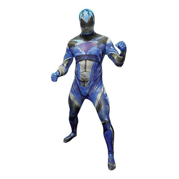 パワーレンジャー コスプレ 全身タイツ ブルー レンジャー 大人 コスチューム グループ 衣装