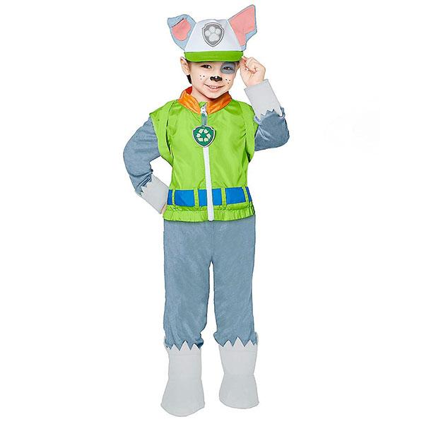 パウパトロール ロッキー コスプレ 子供 コスチューム ハロウィン 仮装 衣装