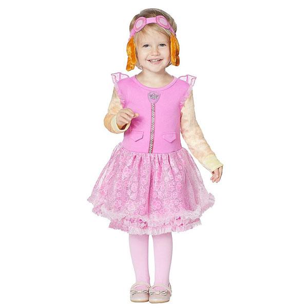 パウパトロール スカイ コスプレ ベビー 幼児 子供 コスチューム ハロウィン 仮装 衣装