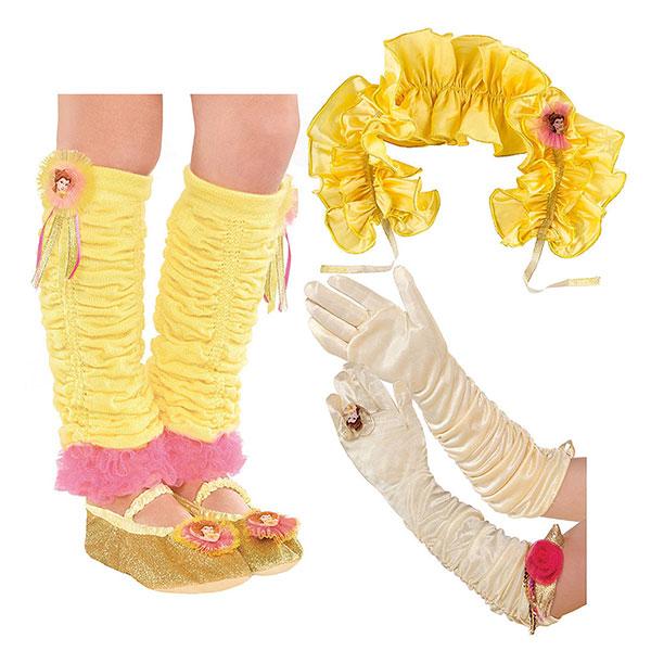 美女と野獣 コスプレ ベル 子供 ドレスアップ キット 衣装 仮装