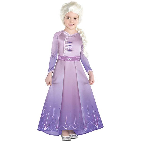 アナと雪の女王2 エルサ コスプレ 子供 コスチューム ハロウィン 衣装 ディズニー 仮装