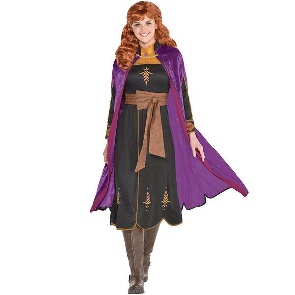 アナと雪の女王2 アナ コスプレ 大人 コスチューム ハロウィン 衣装 ディズニー 仮装