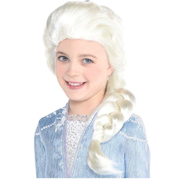 アナと雪の女王2 エルサ コスプレ ウィッグ 大人 かつら ハロウィン ディズニー 仮装