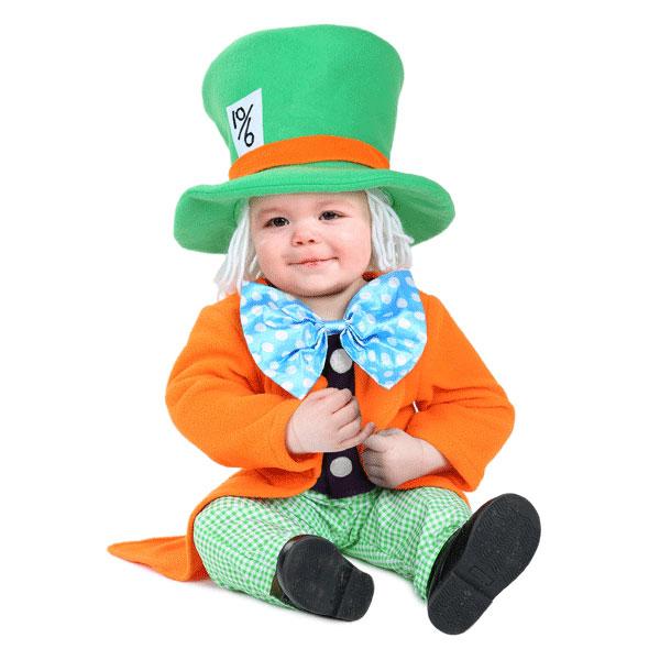 リトル マッドハッター ベビー 幼児 子供 コスチューム ハロウィン コスプレ イベント 衣装 仮装 アリス